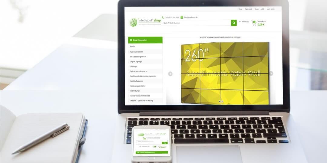 Intellispot® Shop • B2B Onlineshop